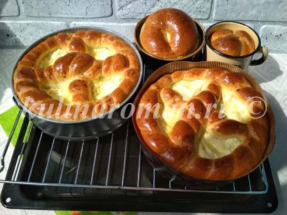 как приготовить тесто для пасхи