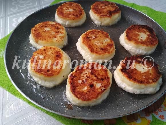 сырники рецепт с манкой