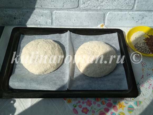бездрожжевой хлеб в духовке