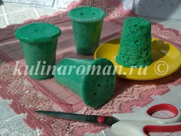 бисквитный мох рецепт