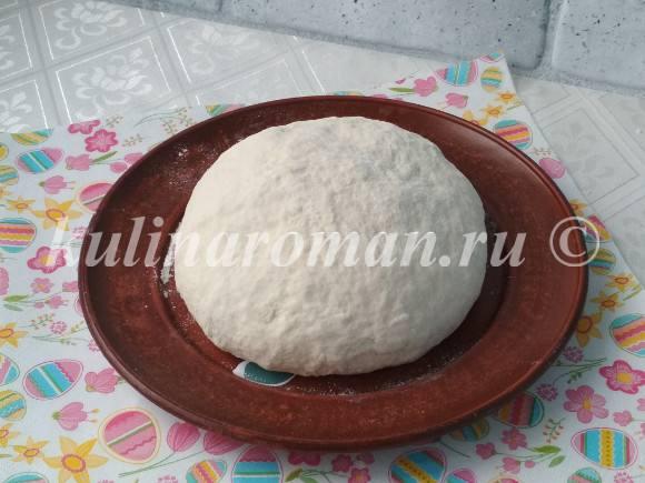 пресное тесто для лаваша
