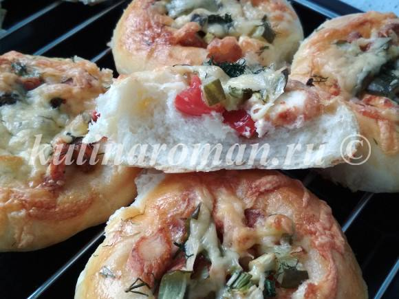 лучшая мини пицца