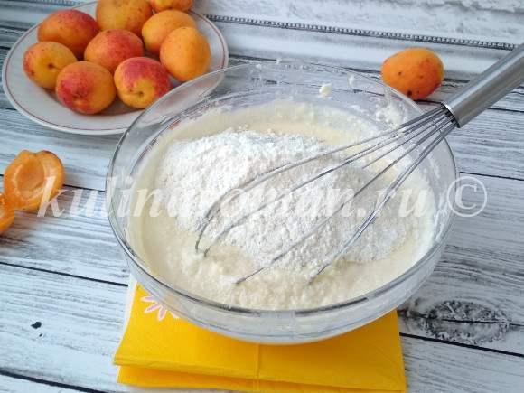 как приготовить абрикосовый пирог