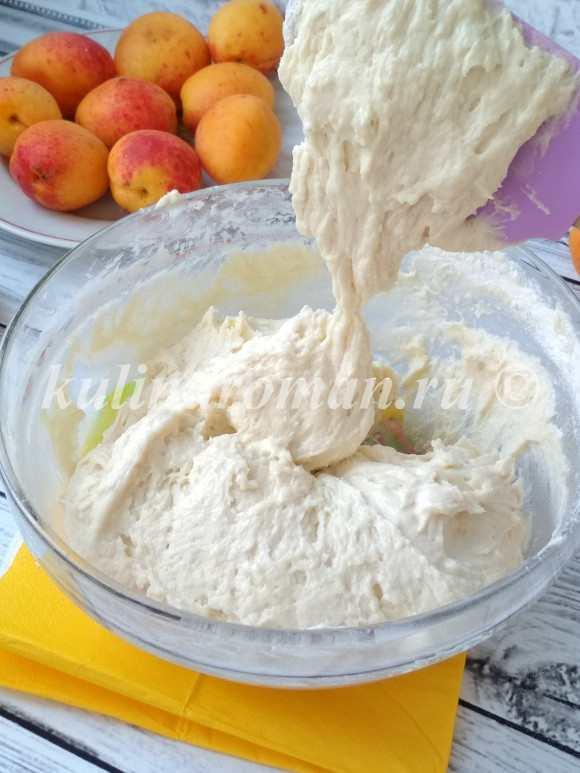 пирог абрикосового пирога