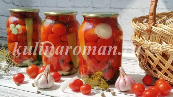 помидоры черри на зиму