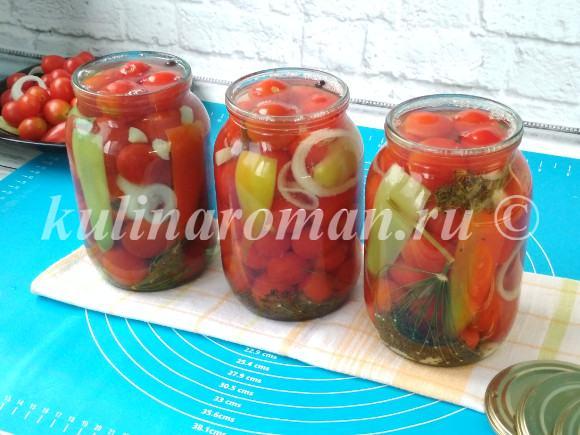 помидоры черри на зиму рецепты