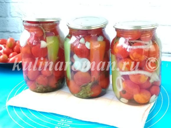 как замариновать помидоры вкусно