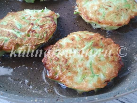 оладушки рецепт из кабачков