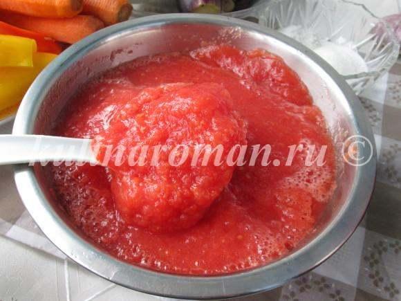 перец в томатной подливе