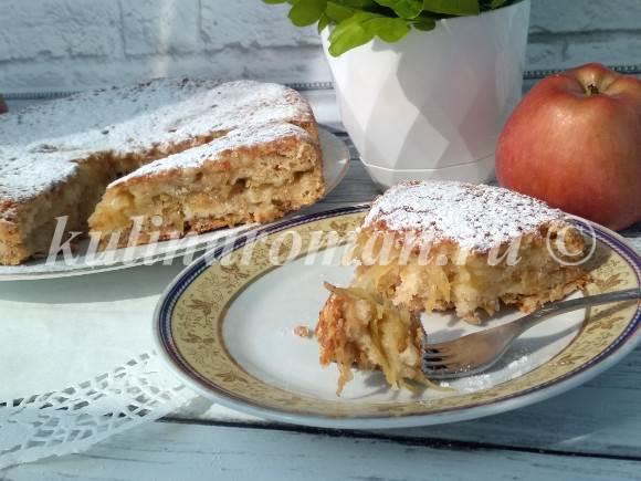 рецепт насыпного пирога