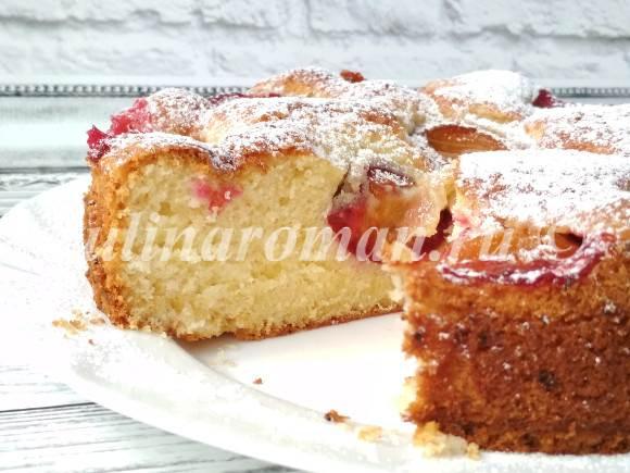 рецепт простого осеннего пирога