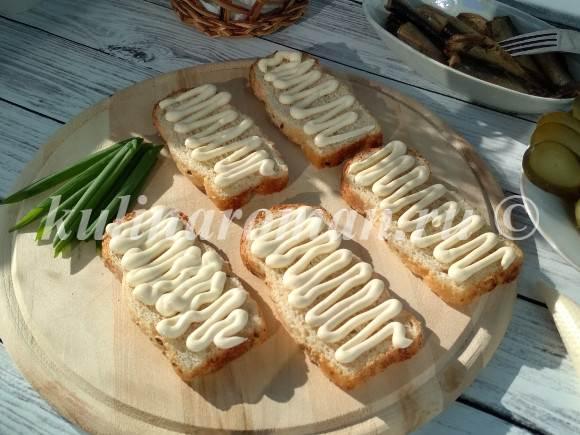 вкусные праздничные бутерброды
