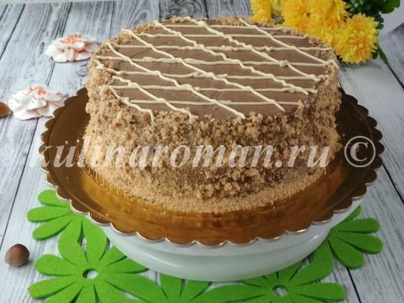 торт безе с орехами