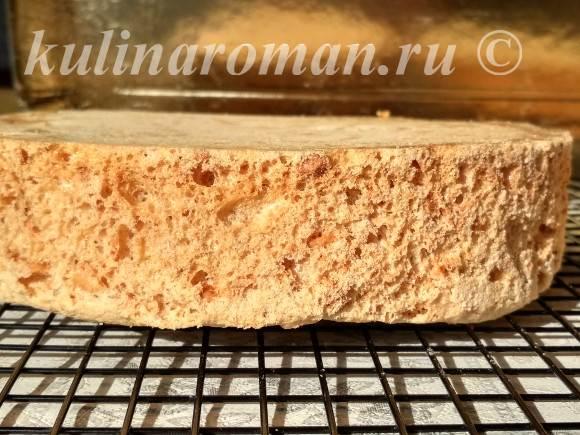 ореховые коржи для торта