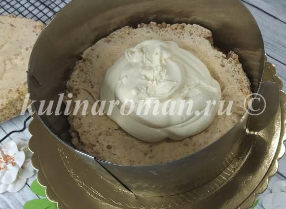 сборка киевского торта