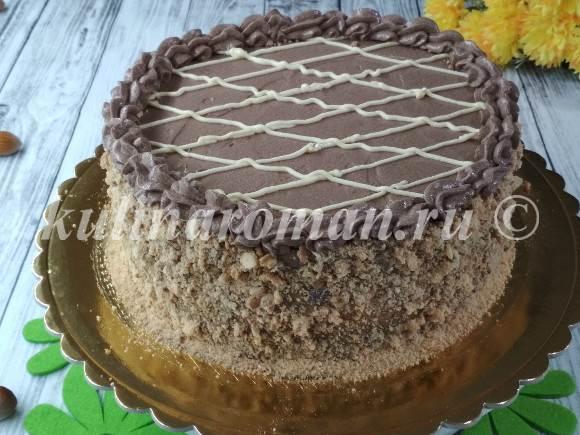 ореховый торт безе