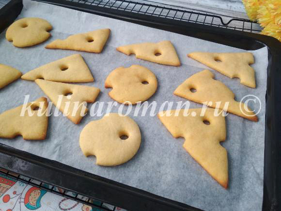 кукурузное печенье рецепт