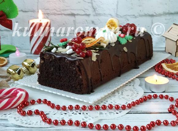 кекс на рождество рецепт с фото