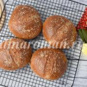 хлеб на кефире с отрубями