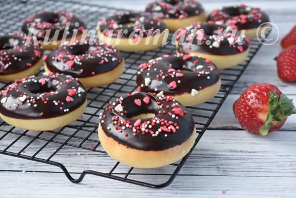пончики на 14 февраля
