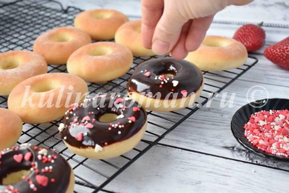 пончики донатс рецепт