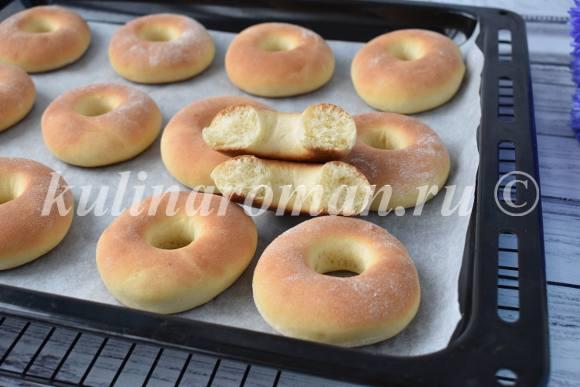 как приготовить пончики в духовке