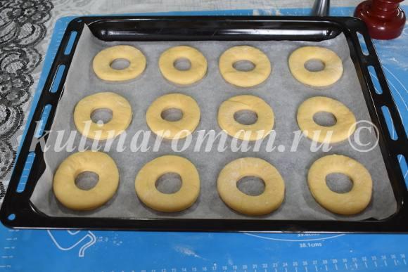 расстойка пончиков