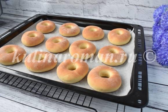 пончики в духовке рецепт
