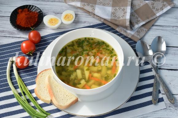 постный суп