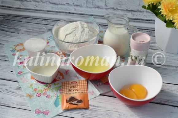удачные панкейки на молоке