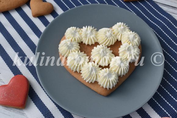 торт сердечко рецепт