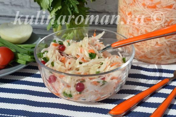рецепт маринованной капусты провансаль