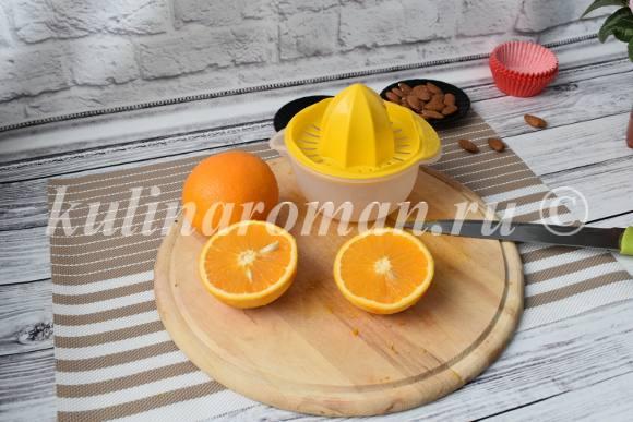 кексы апельсиновые рецепт