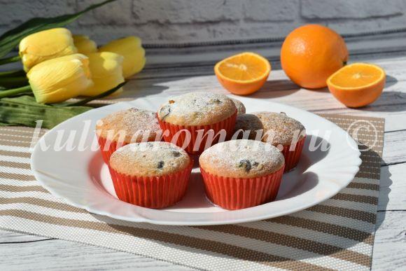 апельсиновые кексы постные