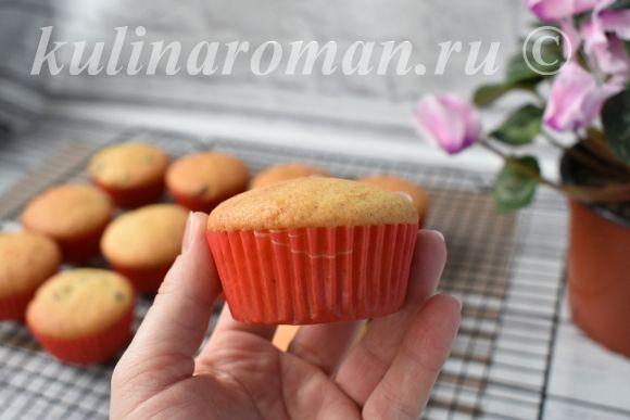 рецепт кексов на соке