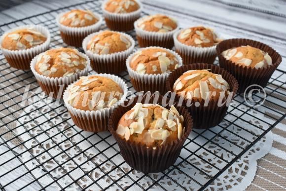 медовые кексы рецепт