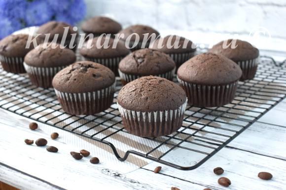 рецепт кофейных кексов