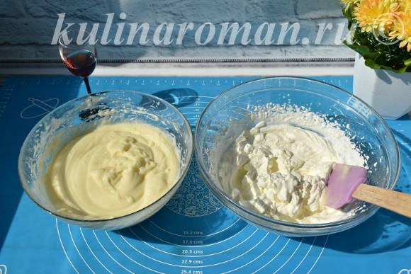 крем на молоке со сливками