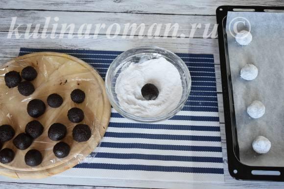 печенье с трещинками рецепт