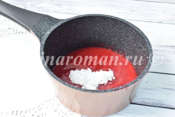 малиновый конфитюр рецепт