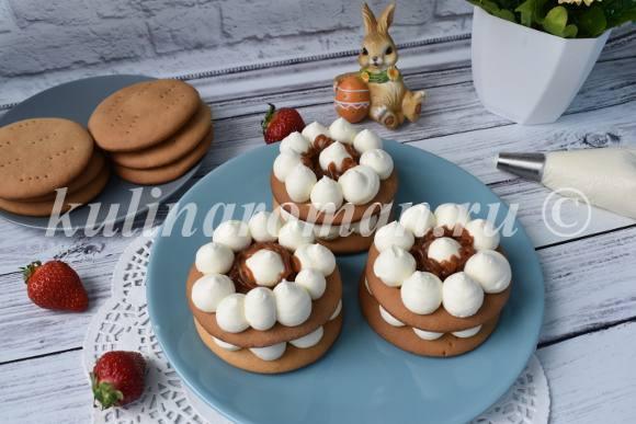 пирожные мини тортики