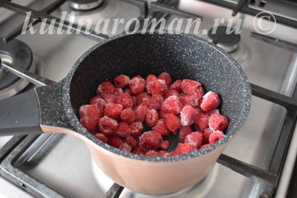 рецепт малинового конфитюра