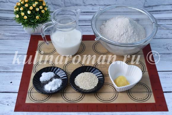 рецепт ржаных лепешек