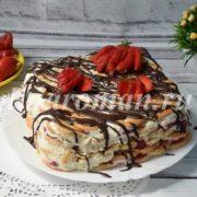 торт из печенья и сметаны