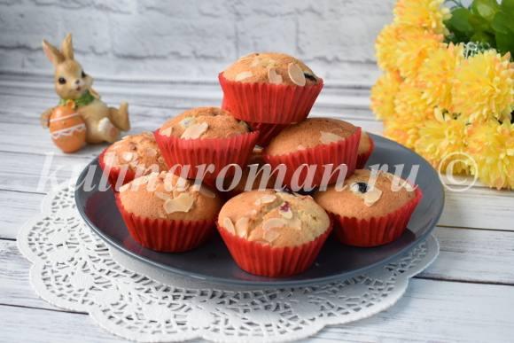 рецепт вкусных кексов на сметане