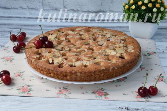 рецепт вкусного вишневого пирога