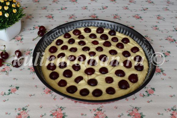 рецепт пирога с вишней рецепт