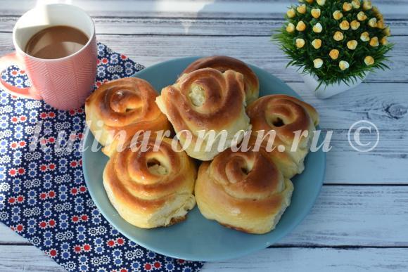 булочки к завтраку