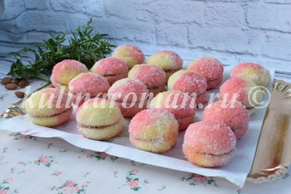 печенье персики в домашних условиях