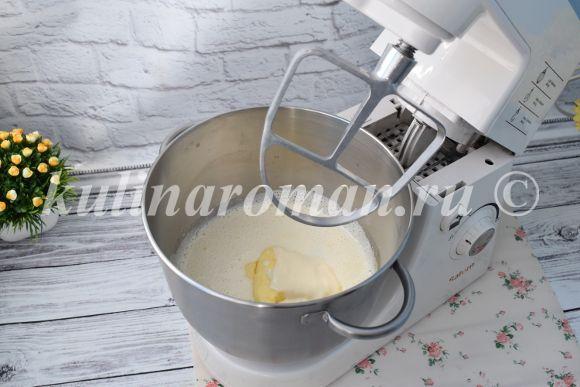 замешиваем песочное тесто